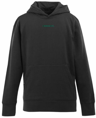 Oregon YOUTH Boys Signature Hooded Sweatshirt (Color: Black)
