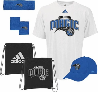 Orlando Magic 5-Piece Shirt Hat Combo Pack