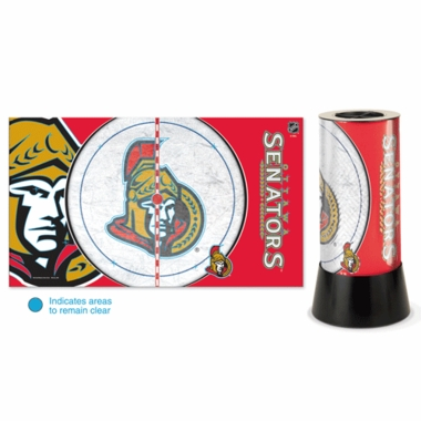 Ottawa Senators Rotating Lamp