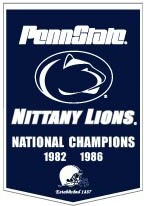 "Penn State 24""x36"" Dynasty Wool Banner"