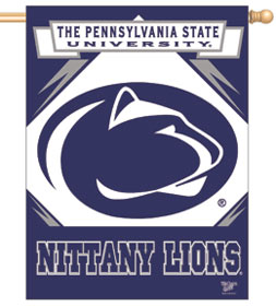 """Penn State Nittany Lions 27""""x37"""" Banner"""