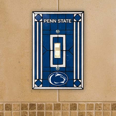 Penn State Art Glass Lightswitch Cover