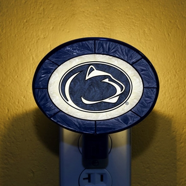 Penn State Art Glass Night Light