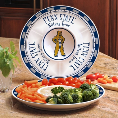 Penn State Ceramic Chip and Dip Plate