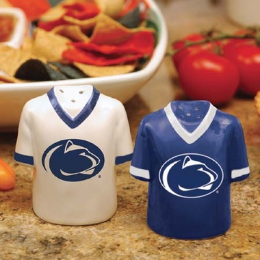 Penn State Ceramic Jersey Salt and Pepper Shakers