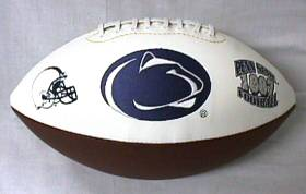 Penn State Nittany LionsFull Size Embroidered Signature Series Football
