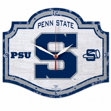 Penn State High Definition Wall Clock