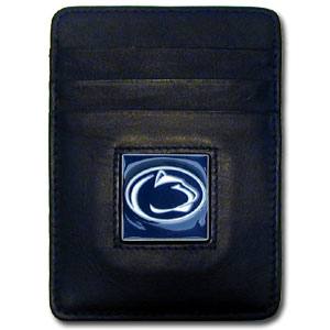 Penn State Leather Money Clip (F)