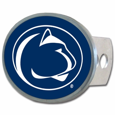 Penn State Oval Metal Hitch Cover