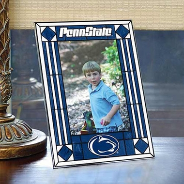 Penn State Portrait Art Glass Picture Frame