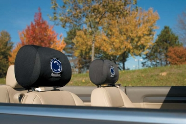 Penn State Set of 2 Headrest Covers (F)