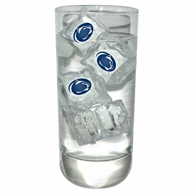 Penn State Set of 4 Light Up Ice Cubes