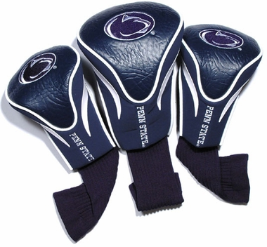 Penn State Set of Three Contour Headcovers