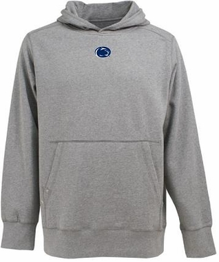 Penn State Mens Signature Hooded Sweatshirt (Color: Silver)