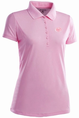 Penn State Womens Pique Xtra Lite Polo Shirt (Color: Pink)