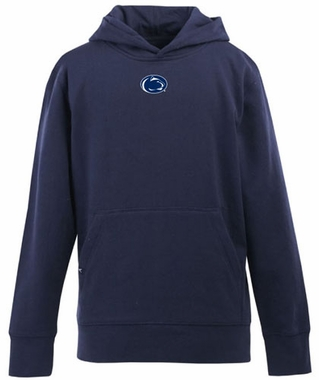Penn State YOUTH Boys Signature Hooded Sweatshirt (Color: Navy)