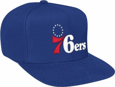 Philadelphia 76ers Basic Logo Snap Back Hat