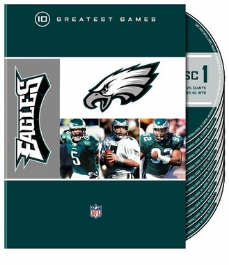 Philadelphia Eagles 10 Greatest Games DVD