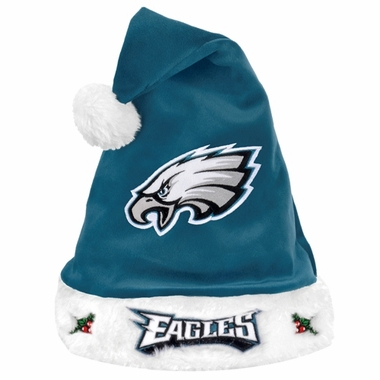 Philadelphia Eagles 2012 Team Logo Plush Santa Hat