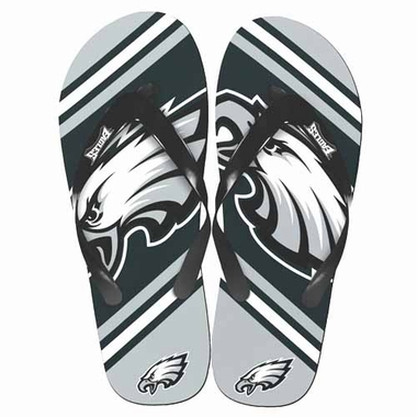 Philadelphia Eagles 2013 Unisex Big Logo Flip Flops
