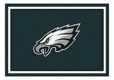 "Philadelphia Eagles 5'4"" x 7'8"" Premium Spirit Rug"