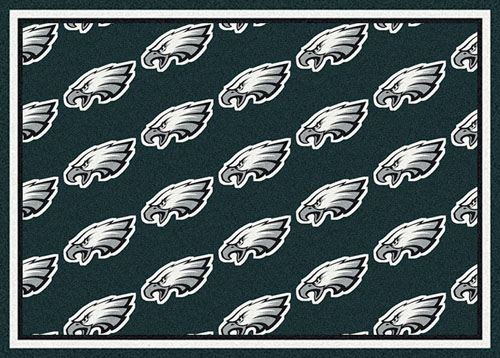 products team rug eagles philadelphia distressed nfl area