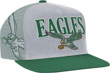 Philadelphia Eagles Double Graphic Laser Stitched Snap Back Hat