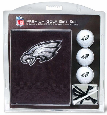 Philadelphia Eagles Embroidered Towel Golf Gift Set