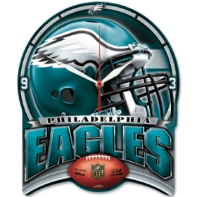Philadelphia Eagles High Definition Wall Clock