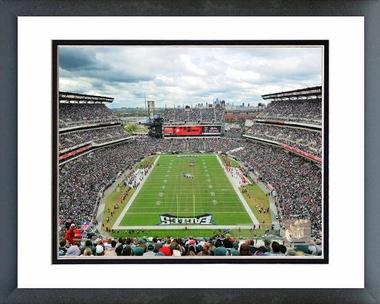 Philadelphia Eagles Lincoln Financial Field 2011 16x20 Framed and Double-Matted Photo