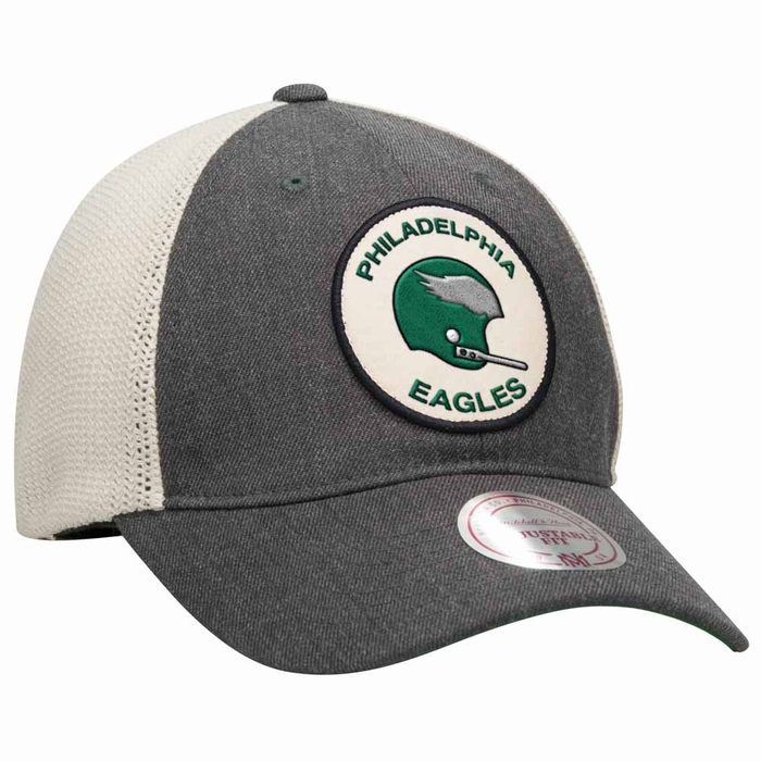 ... where can i buy philadelphia eagles mitchell ness patch mesh back  slouch adjustable hat e1be1 10ec0 d44162b08