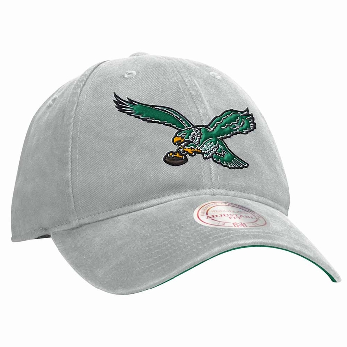... ireland philadelphia eagles mitchell ness throwback logo slouch  adjustable hat e4f47 3ee74 f4158f71a