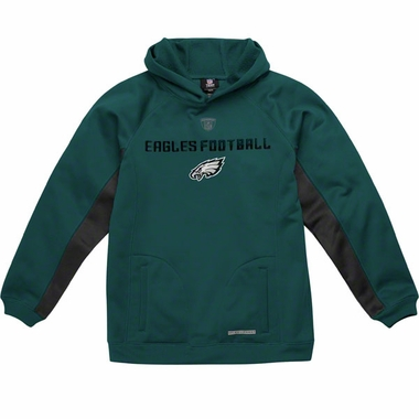 Philadelphia Eagles NFL YOUTH Endurance Performance Pullover Hooded Sweatshirt