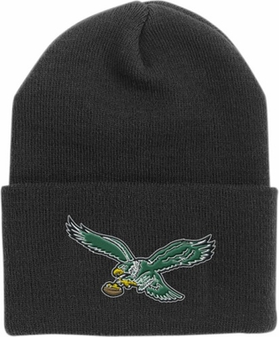Philadelphia Eagles Throwback Logo Cuffed Knit Hat