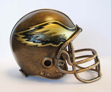 Philadelphia Eagles Tim Wolfe Helmet Statue