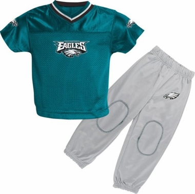 Philadelphia Eagles Toddler Jersey and Pants Set