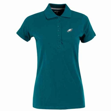 Philadelphia Eagles Womens Spark Polo (Color: Teal)