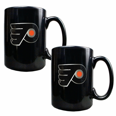 Philadelphia Flyers 2 Piece Coffee Mug Set