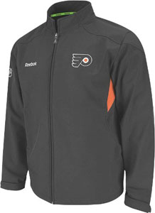 Philadelphia Flyers 2011 Center Ice Softshell Full Zip Premium Jacket - Medium