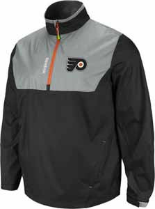 Philadelphia Flyers 2012 1/4 Zip Performance Hot Jacket - X-Large