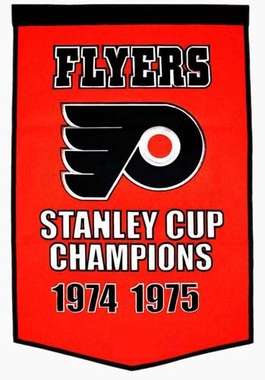 "Philadelphia Flyers 24""x36"" Dynasty Wool Banner"