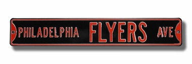 Philadelphia Flyers Ave Street Sign
