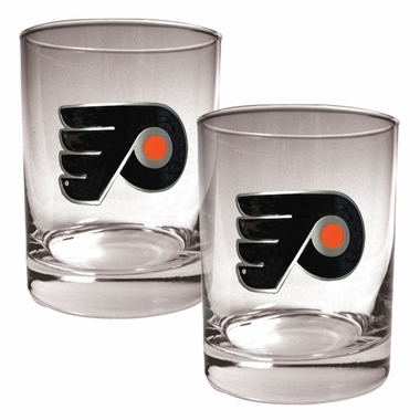 Philadelphia Flyers Double Rocks Set