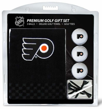 Philadelphia Flyers Embroidered Towel Golf Gift Set