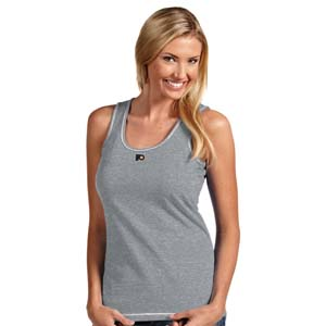 Philadelphia Flyers Womens Sport Tank Top (Color: Gray) - X-Large