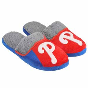 Philadelphia Phillies 2012 Sherpa Slide Slippers - Small