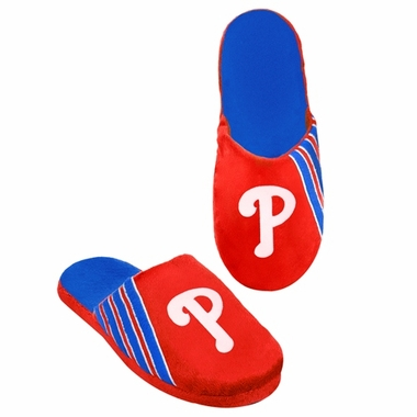 Philadelphia Phillies 2012 Team Stripe Logo Slippers