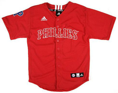 Philadelphia Phillies Adidas Youth Replica Jersey - X-Large