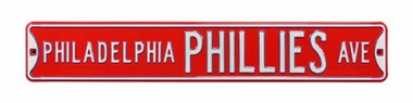 Philadelphia Phillies Ave Street Sign