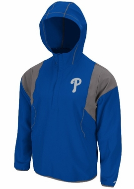 Philadelphia Phillies Barracuda 1/2 Zip Water Resistant Jacket
